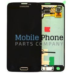 Genuine Samsung Galaxy S5 G900F LCD + Digitiser Gold - Part No: GH97-15959D